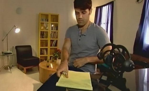 הפזמונאי נועם חורב (צילום: חדשות 2)