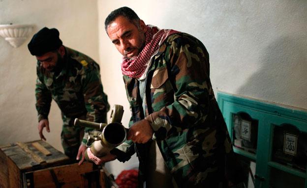 צעירים ממשיכים להצטרף ללחימה בסוריה, ארכיון (צילום: רויטרס)