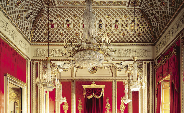 ביקור בבאקינגהאם פאלאס (צילום: Royal Collection Trust / © Her Majesty Queen Elizabeth II 2013, photographer Derry Moore)