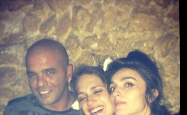 אייל גולן ומארינה מקסימיליאן בלומין  (צילום: מתוך האינסטגרם של אייל גולן, instagram)