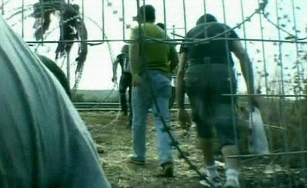 """כך מסתננים אלפי שב""""חים לישראל (צילום: חדשות 2)"""