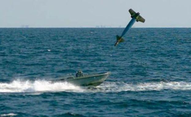 פגיעה בלב ים (צילום: צבא ארצות הברית)