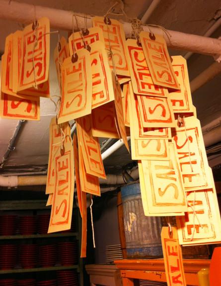 חנויות ניו יורק, Fishs פתקים גובה (צילום: נעם רוזנבלט אלדן)