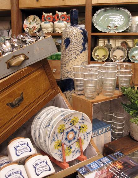 חנויות ניו יורק, אנטרופולוגי אוסף כלים (צילום: נעם רוזנבלט אלדן)