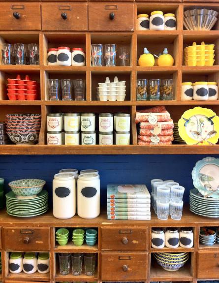 חנויות ניו יורק, אנטרופולוגי ארון כלים (צילום: נעם רוזנבלט אלדן)