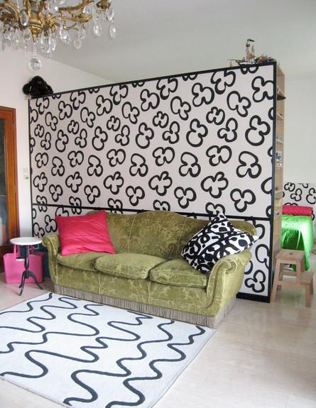 אחסון, קיר מצויר גובה (צילום: www.houselogic.com)
