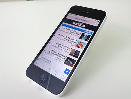 iPhone 5c (צילום: אלעד בלובשטיין , TGspot)