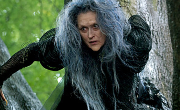 מריל סטריפ מכשפה (צילום: Entertainment Weekly)