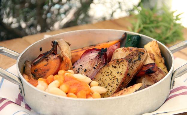 קדירת ירקות, עומר מילר (צילום: קרן ביטון כהן, אוכל טוב)