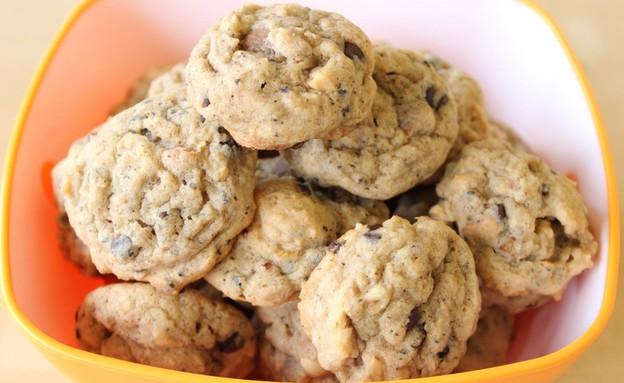 עוגיות שיבולת שועל מתוקות-מלוחות (צילום: מור כהן, אוכל טוב)