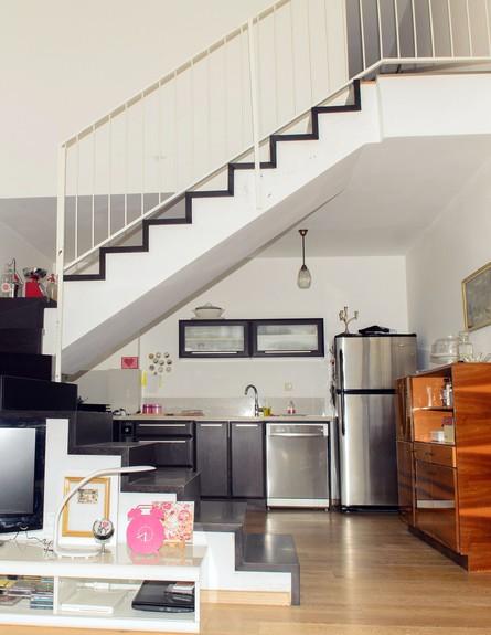 הבית של הילה, מדרגות גובה