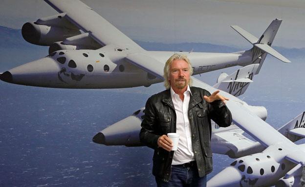 המירוץ לחלל של ריצ'ארד ברנסון (צילום: AP)