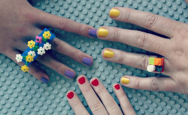 whimsy-love פריטי לגו, טבעות ידיים (צילום: whimsy-love)