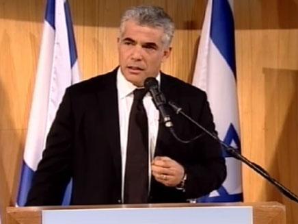 צפו בנאום שנשא שר האוצר (צילום: חדשות 2)