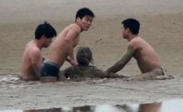 חילוץ, בוץ, סין