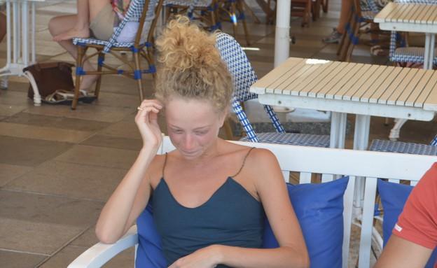 יוליה פלוטקין רגע אחרי חתונתה (צילום: צ'ינו פפראצי)