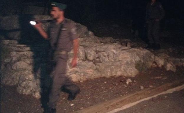 חיפושים אחר החשוד, הערב (צילום: חדשות 2)