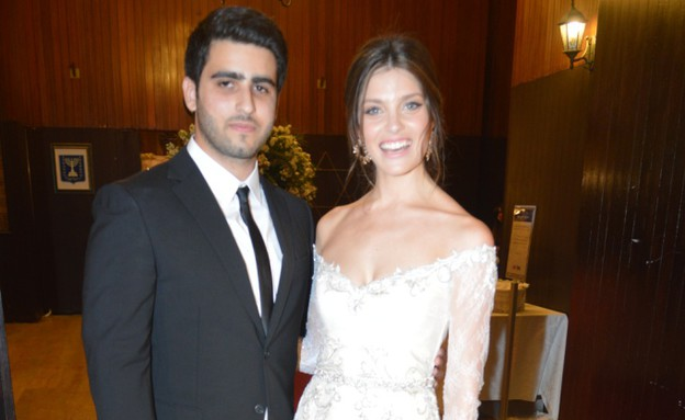 חתונה לירז דרור (צילום: צ'ינו פפראצי)