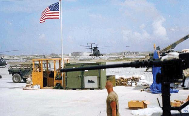 מסוק ליטל בירד במוגדישו (צילום: משרד ההגנה האמריקני)