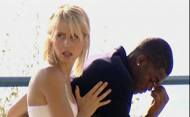 החתן שחור הכלה לבנה – איך תגיבו? (תמונת AVI: mako)