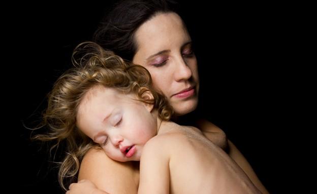 שרי גלזר עם בתה שיר (צילום: שרה מויאל)