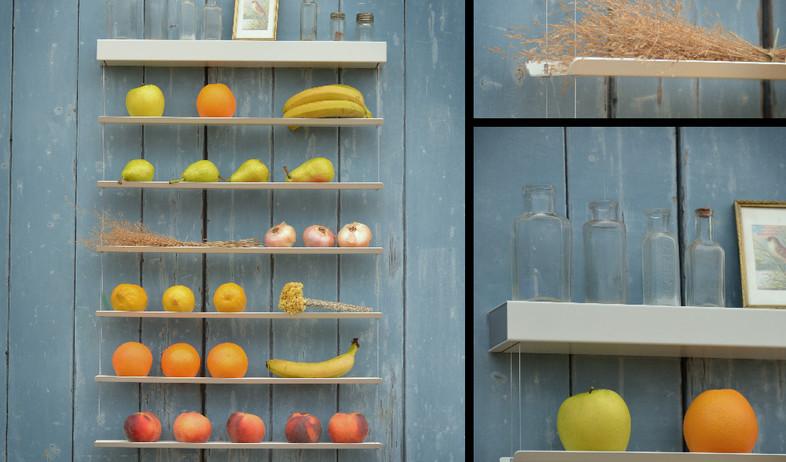 חמישייה 7.10, מדפים כללי (צילום: fruit-wall)