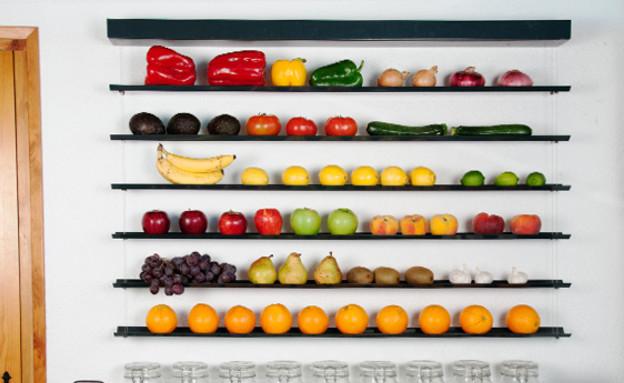 חמישייה 7.10, מטבח (צילום: fruit-wall)