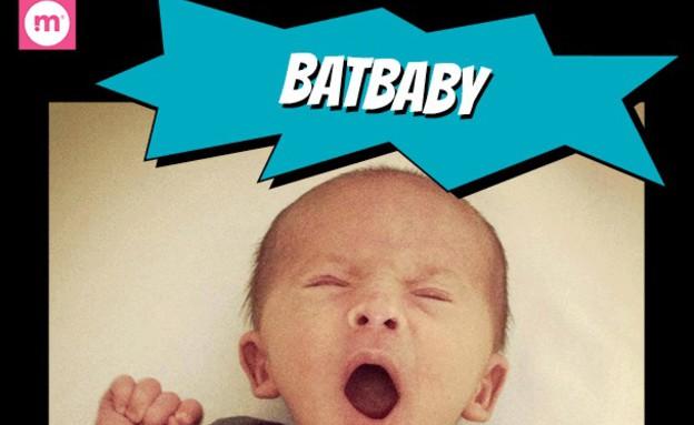 ילדי על - באטמן שינה (תמונת AVI: mommyshorts.com)