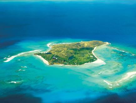 האי נקר, אתר הנופש של ברנסון (צילום: neckerisland.virgin.com)