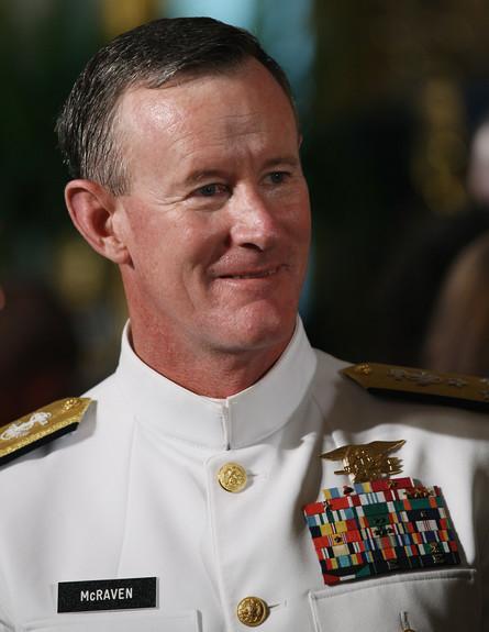 אדמירל וויליאם מקרייבן (צילום: Win McNamee, GettyImages IL)