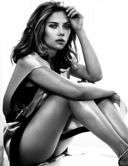 סקרלט ג'והנסון הכי סקסית (צילום: מתוך מגזין esquire)