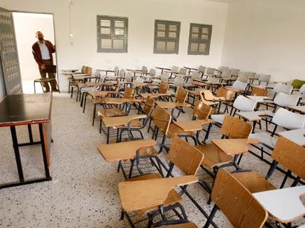 כתה, בית ספר ריק (צילום: חדשות 2)