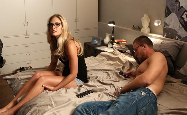 בר ודור רפאלי בקמפיין למשקפיים (צילום: אייל נבו)