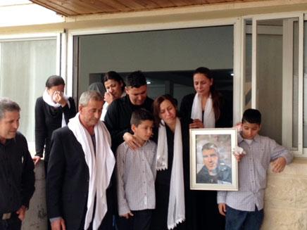 """""""אנחנו מאוד מתגעגעים"""". משפחת טרודי, ארכי (צילום: פורט נאסר)"""