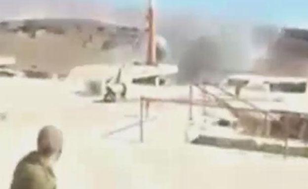 תיעוד רגע הפיצוץ