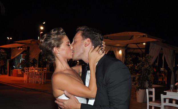 חתונה דנה גרוצקי (צילום: צ'ינו פפראצי)