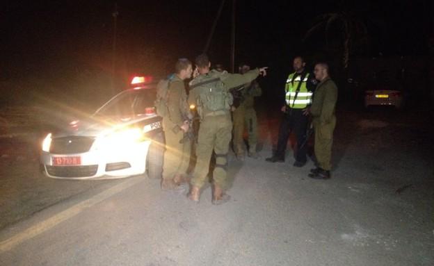 פיגוע ביישוב ברוש הבקעה בבקעת הירדן (צילום: פוראת נאסר, חדשות 2)