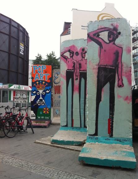 ברלין, גרפיטי חומה, צילום מירב אייכלר (צילום: מירב אייכלר)