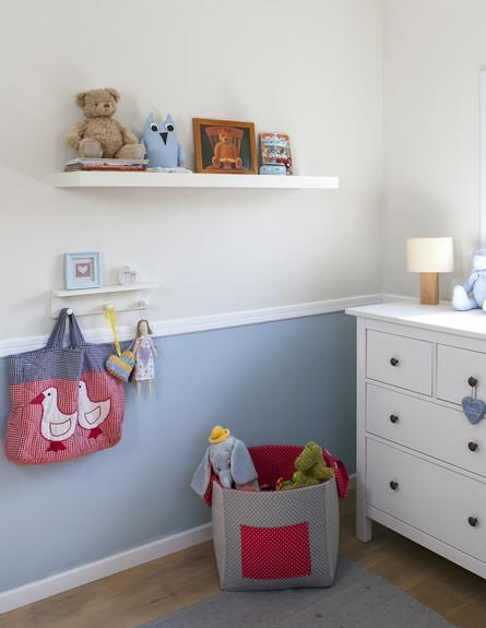 עידית סלנט, חדר תינוק גובה (צילום: שירן כרמל)