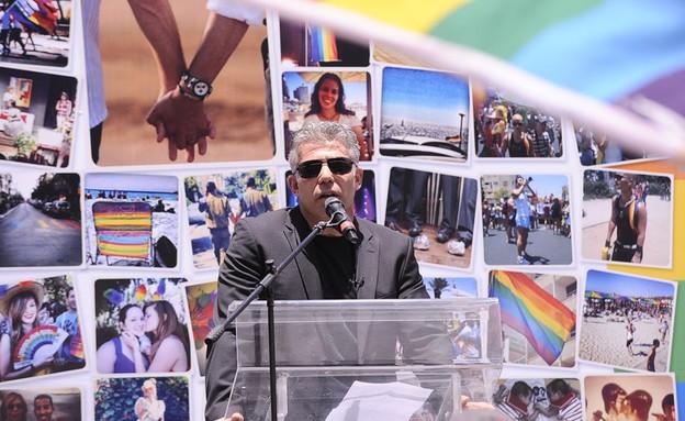 מצעד הגאווה בתל אביב 2013 (תמונת AVI: מיכאל שבדרון )