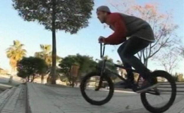 מאט רו, רוכב אופניים אגדי (תמונת AVI: mako)