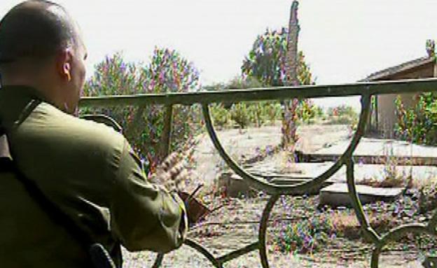 """צפו בשחזור רצח אל""""מ עופר (צילום: חדשות 2)"""