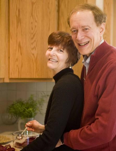 פול ומרדית', סגן הנשיא והנשיאה של איגוד מצמצמי הקלוריות (צילום: LivingTheCRWay.com)