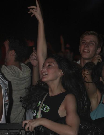 קהל של דיוויד גואטה במצדה (צילום: אולג חמלניץ)