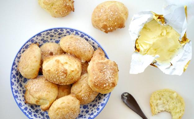 פחזניות גבינה מלוחות (צילום: נעמי אבליוביץ', השף הלבן, תנובה)