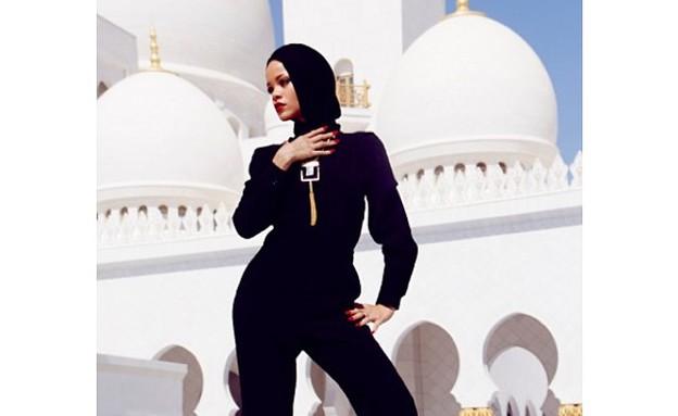 ריהאנה באבו דאבי (צילום: מתוך האינסטגרם של ריהאנה)