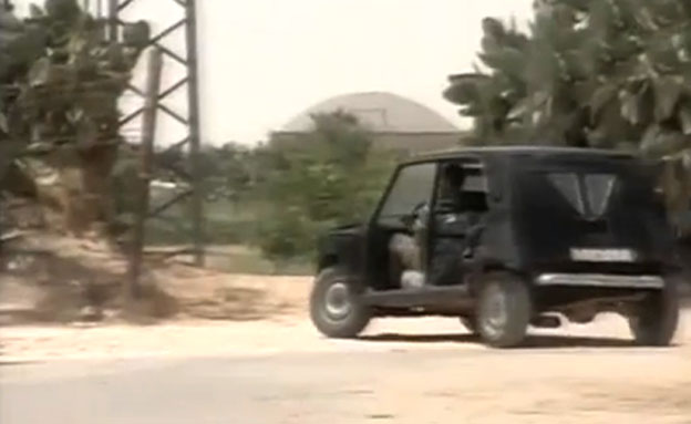 רכב שיוצר בעזה (צילום: חדשות 2)