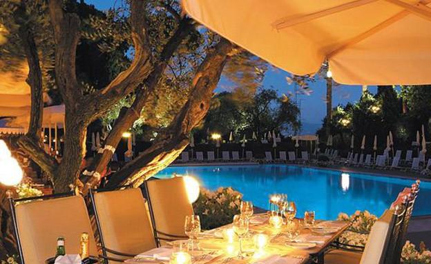 רומא קואלירי, ארוחה, מלונות יוקרתיים
