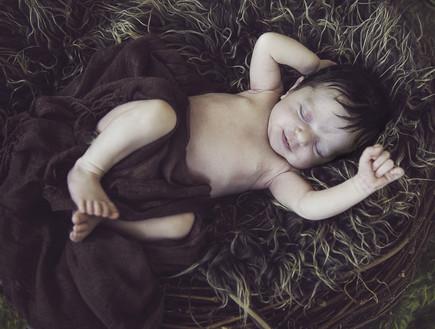 תינוקות מחייכים