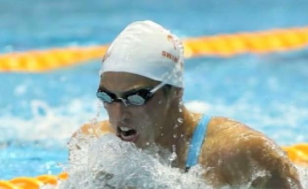 עמית עברי זכתה במדליית כסף (תמונת AVI: mako)